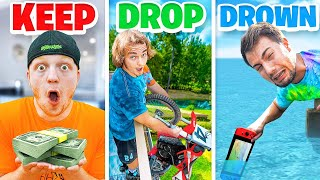 EXTREME Keep, Drop, or Drown Challenge!