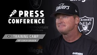 Coach Gruden Impressed With Maliek Collins & Discusses Ramp-Up Period | Las Vegas Raiders