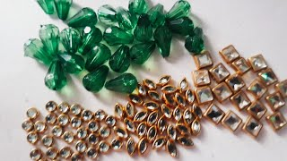 HOW TO MAKE PART WEAR EARRINGS AT HOME//DIY//HANDMADE JEWELLER//HOORIYA STYLE..