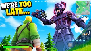 I Trolled Him With GALACTUS Leaked Live Event.. (Fortnite)