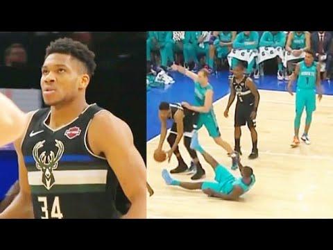 Giannis Makes NBA Players Look Like Kids After Bullying Hornets! Bucks vs Hornets 2020 NBA Season