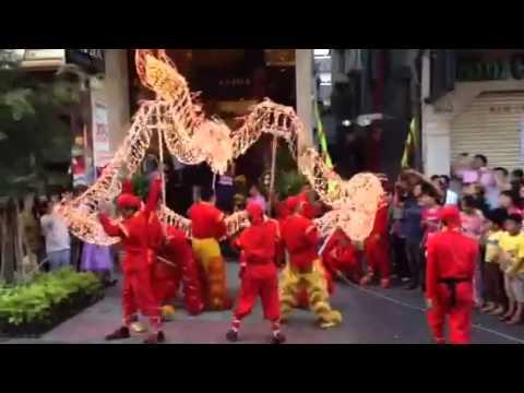 Ho Chi Minh dragon festival