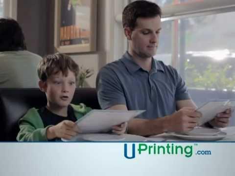 UPrinting Google Ad