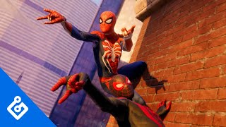 Checking In On Miles And Peter In Marvel's Spider-Man: Miles Morales (4K)