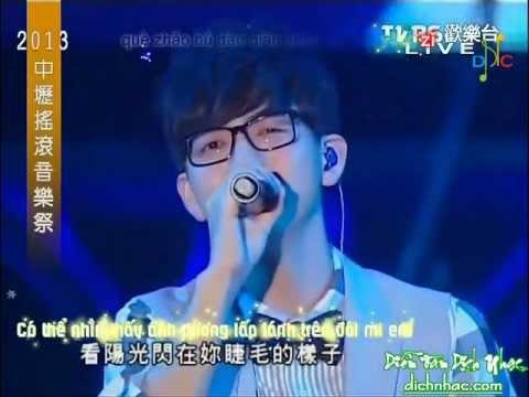 [dichnhac.com][Vietsub Kara] Tình yêu cách anh một thước 爱情离我一公尺 - Hồ Hạ 胡夏