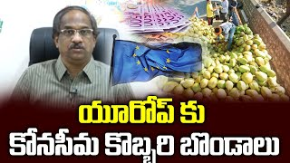 East Godavari's coconut ready for export to Europe from Vi..