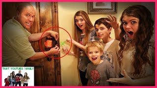 24 Hours TRAPPED In The HACKERS MANSiON Full Movie / That YouTub3 Family I Family Channel