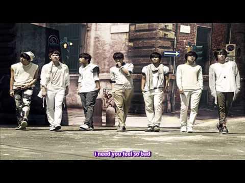 HD  Infinite - Feel So Bad  english sub romanization hangul Infinite Feel So Bad