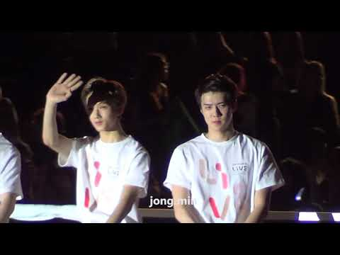 SMTOWN IN CHILE - GOODBYE STAGE (HOPE) 190118