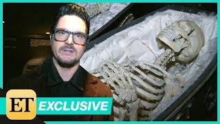 Zak Bagans of Ghost Adventures Takes ET on a Tour of his Haunted Museum (EXTENDED CUT)