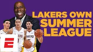 Lonzo Ball, Josh Hart give Los Angeles Lakers back-to-back summer league MVP awards | ESPN