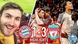 Bayern Munich vs Liverpool Highlights 3-1!!