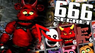 Ultimate Custom Night SECRET 666 Mode... Unlocking Devil Freddy! (SECRET MODE)