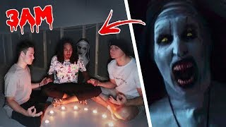 (VALAK) SUMMONING THE NUN AT 3AM CHALLENGE!! *HE GOT POSSESSED!!*