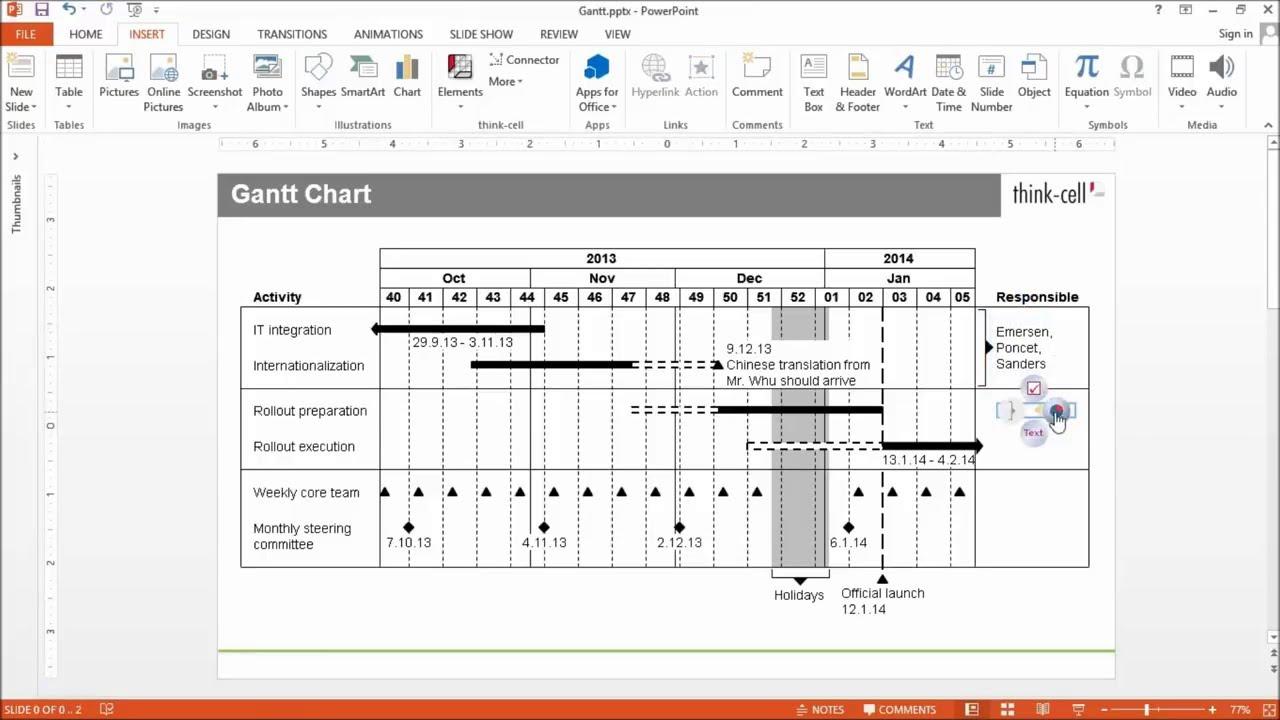 Features charting excel data links and slide layout think cell user manual sample geenschuldenfo Choice Image