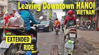 Cycling down Narrow Roads in Hanoi with a Recumbent Trike | Extended Ride