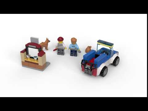 video LEGO City Politie Hondenpatrouille – 60241
