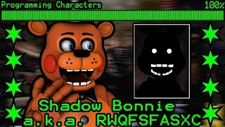 TOY FREDDY REACTS TO: Shadow Bonnie Revealed as 52nd Ultimate Custom Night Animatronic!!!