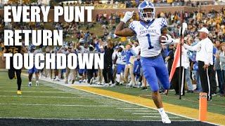 Every Punt Return Touchdown 2018-19 College Football Season