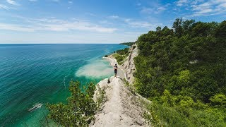 CLIMBING THE SCARBOROUGH BLUFFS!!!
