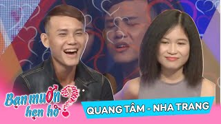 The pair of talented boys and girls ended up dreaming Quang Tam - Nha Trang BMHH 114 👫