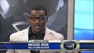 Michael Irvin on The Ticket's School Closings Bit