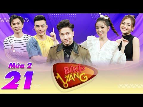 Bí Kíp Vàng Mùa 2 | Tập 21: Dương Lâm, Puka mặc quần áo mỏng manh rủ rê ST Sơn Thạch