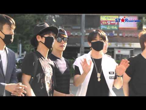 KBS2 뮤직뱅크 출근길 - 슈퍼주니어(Super Junior)