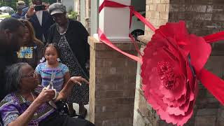 Mr. Tyler Perry blessed Mother Bettie Ann Pace with a New House