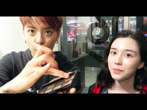Tia TV: Teaching Amber Makeup (eye makeup for beginners)