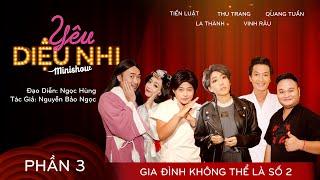 Minishow Diệu Nhi - 2018 Phần 3 (full):Thu Trang, Tiến Luật, Quang Tuấn, La Thành, Vinh Râu