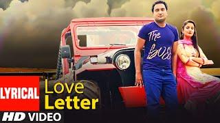 Love Letter – TR Ft Shivani Raghav