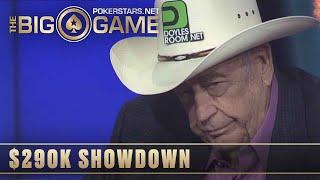 The Big Game S1 ♠️ W8, E3 ♠️ Doyle Brunson vs Lex Veldhuis ACTION FLOP ♠️ PokerStars Global