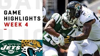 Jets vs. Jaguars Week 4 Highlights | NFL 2018
