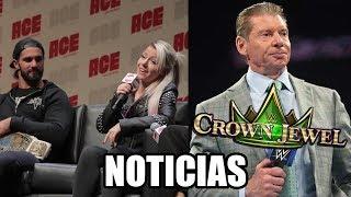 WWE Noticias: Alexa trollea a Rollins, Vince cancelando Crown Jewel, AJ Lee en Evolution