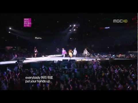 [1080p HD] 120930 SNSD TaeTiSeo + EXO - DJ Got Us Falling In Love @ SMTown in Seoul