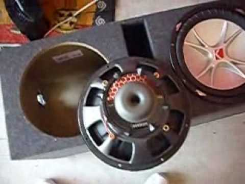 12 volt horn wiring diagram fiamm product kicker cvrs install - youtube kicker 12 cvr subwoofers wiring diagram #11