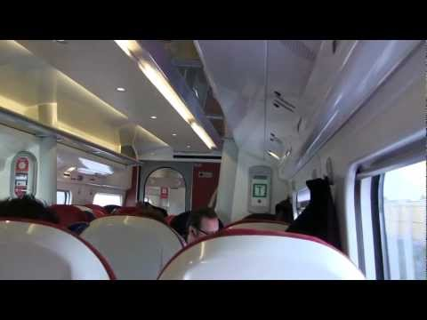Virgin Trains Pendolino Train (interior) - January 2013 - Smashpipe Autos