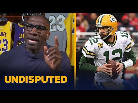 Shannon agrees that Aaron Rodgers deserved All-Decade team honors over Drew Brees | NFL | UNDISPUTED