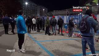 LIVE Napoli, l'omaggio della città a Maradona