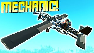 """We Searched """"Mechanic"""" on the Workshop to Live the Mechanic Life!  - Scrap Mechanic Workshop Hunters"""