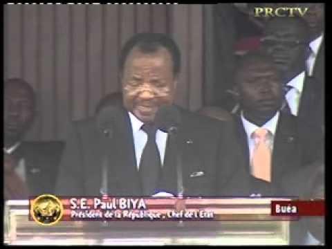 Discours du Chef de l'Etat à Buea, à l'occasion de la Célébration du Cinquantenaire de la Réunification du Cameroun