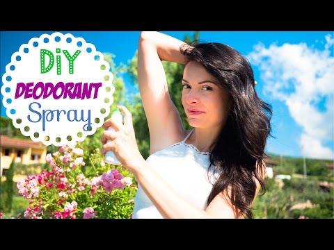 Homemade Deodorant Recipe: DIY Natural Deodorant Spray with Aloe Vera