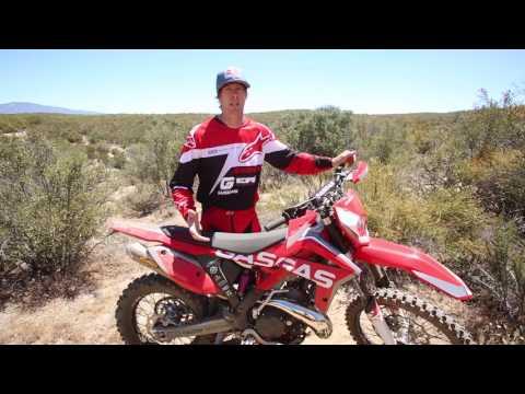 2017 GasGas EC 300 R Riding Impression With Geoff Aaron - Cycle News