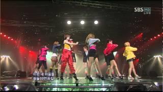 091101 T ara TTL Listen2 SBS Inkigayo