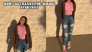 HIGHSCHOOL MORNING ROUTINE 2019 (sophomore)