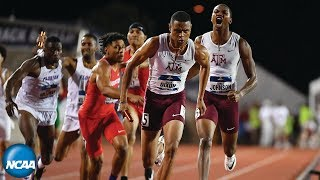 Texas A&M men win 4x400 relay at 2019 NCAA Track and Field Championship