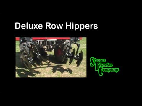 how to make garden rows with a tiller