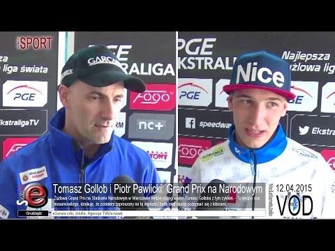 Tomasz Gollob i Piotr Pawlicki: Grand Prix na Narodowym