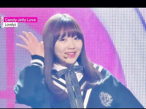 [HOT] Lovelyz - Candy Jelly Love, 러블리즈 - 캔디 젤리 러브, Show Music core 20150103